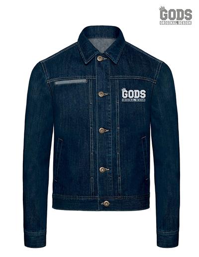 Heren demin jacket